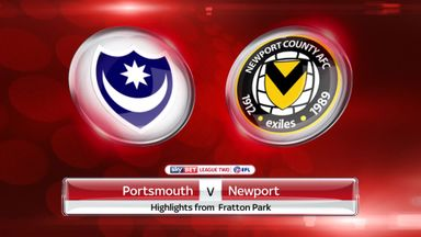 Portsmouth 2-1 Newport
