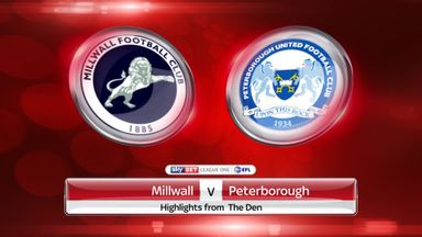 Millwall 1-0 Peterborough