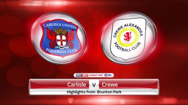 Carlisle 0-2 Crewe