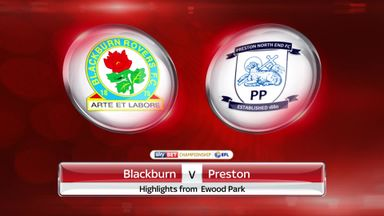 Blackburn 2-2 Preston