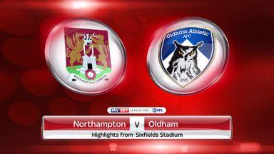 Northampton 1-2 Oldham