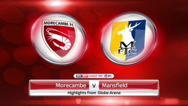 Morecambe 1-3 Mansfield Town
