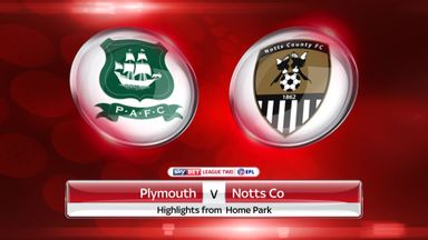 Plymouth 0-1 Notts County