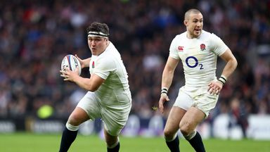 Jamie George is aiming to replace Dylan Hartley as England's first choice hooker