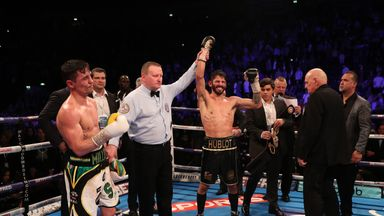 Anthony Crolla was beaten on points again by Jorge Linares at Manchester Arena