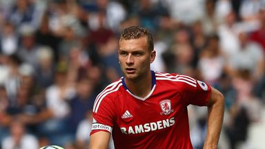 West Brom have had two bids for Ben Gibson rejected by Middlesbrough