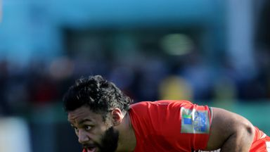Billy Vunipola misses out on the British and Irish Lions tour to New Zealand due to a shoulder injury