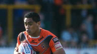Junior Moors was a star performer in Castleford's win over Catalans