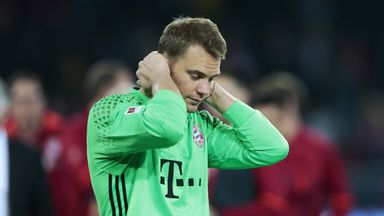 Manuel Neuer will miss the final games of Germany's World Cup qualifying campaign