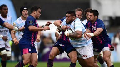 Two Top 14 matches were postponed due to a dispute over a proposed merger of Racing 92 and Stade Francais