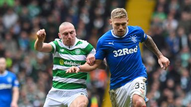 Martyn Waghorn (right) is heading to Portman Road from Scotland