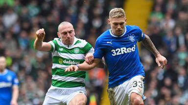 Rangers v Celtic will be shown live on Sky Sports