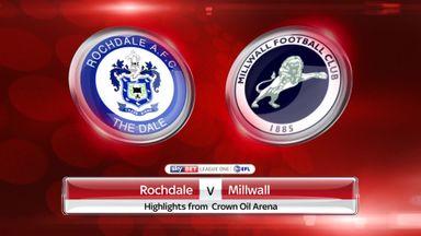 Rochdale 3-3 Millwall