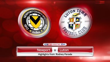 Newport 1-1 Luton