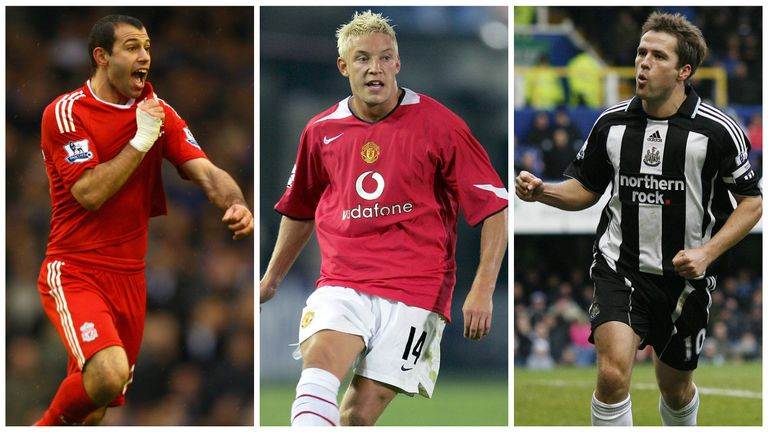 Javier Mascherano, Alan Smith, Michael Owen