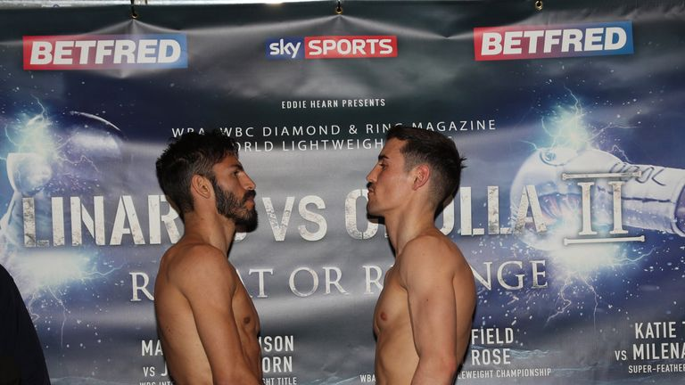 Jorge Linares, Anthony Crolla