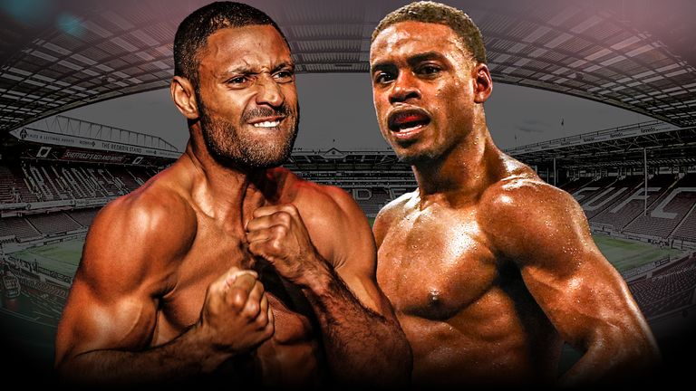 Kell Brook v Errol Spence