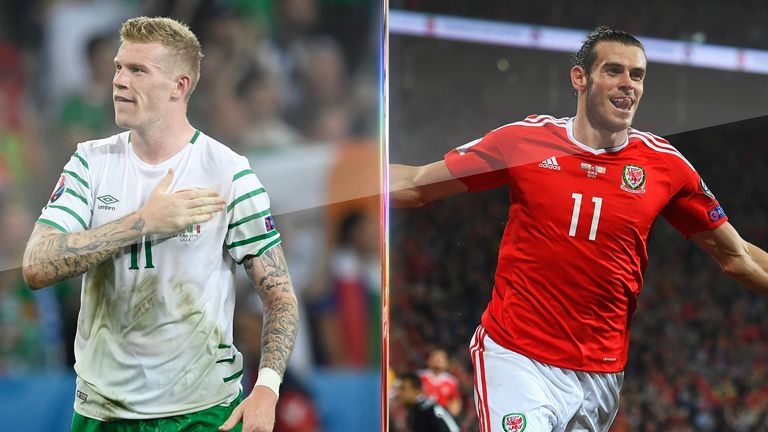 Republic of Ireland take on Wales live on Sky Sports 1 HD from 7pm on Friday