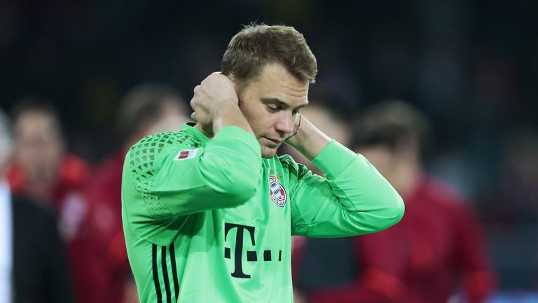 Manuel Neuer not able to go up against Gareth Southgate's men