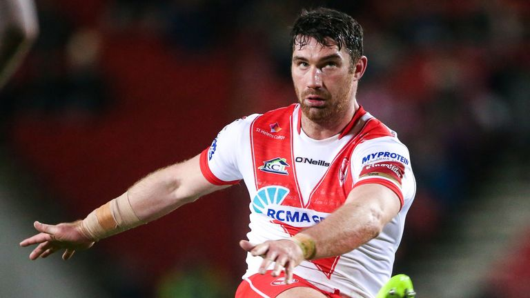 St Helens scrum-half Matty Smith