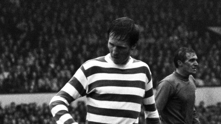 Celtic captain Billy McNeill put them ahead in their 4-0 Scottish Cup final win over Rangers in 1969