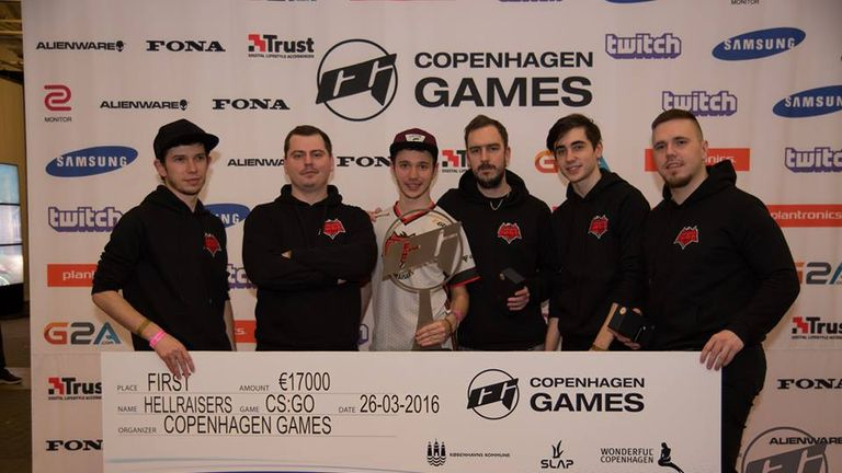 Ukranian side Hellraisers took the 2016 Copenhagen Games Crown (credit Copenhagen Games)