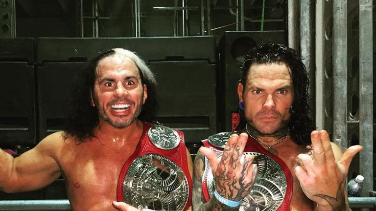 Five Great Wwe Reunions Including D Generation X And Hardy
