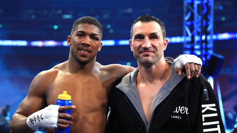 Wladimir Klitschko reflects on epic battle with Anthony Joshua after being stopped in the 11th round at Wembley
