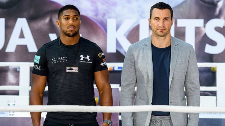 Anthony Joshua's unbeaten record and IBF title  is at stake when he faces Wladimir Klitschko on April 29, live on Sky Sports Box Office