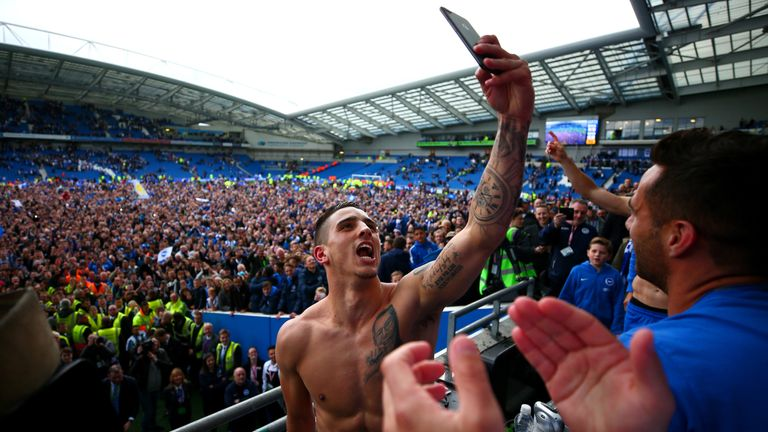 Brighton earn Premier League promotion
