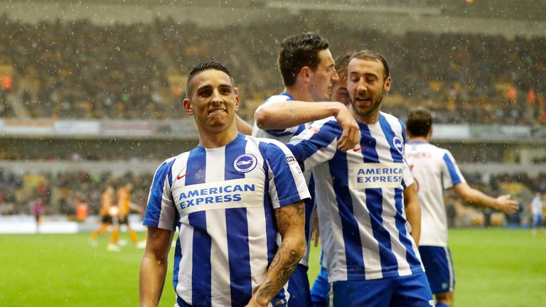 Brighton need just four more points to secure promotion to the Premier League