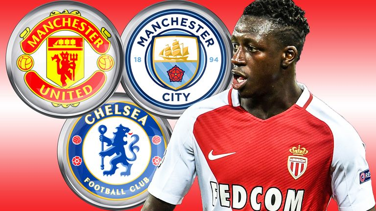 Benjamin Mendy is wanted by a trio of Premier League clubs