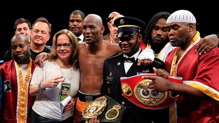 At the ripe old age of 49, Bernard Hopkins won a light-heavyweight world title