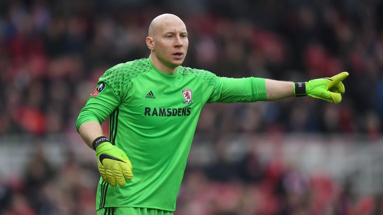 Brad Guzan has featured four times in the Premier League this season