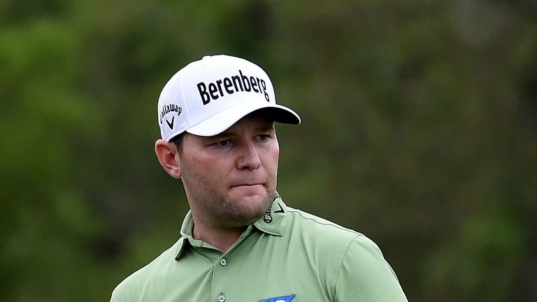 Branden Grace mixed seven birdies with a sole blemish