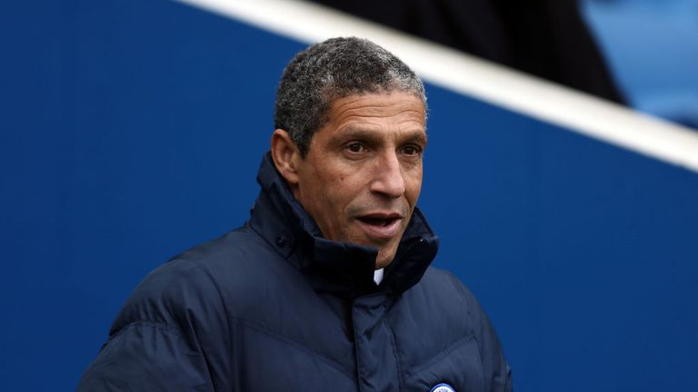 Brighton manager Chris Hughton has been working hard to improve his squad