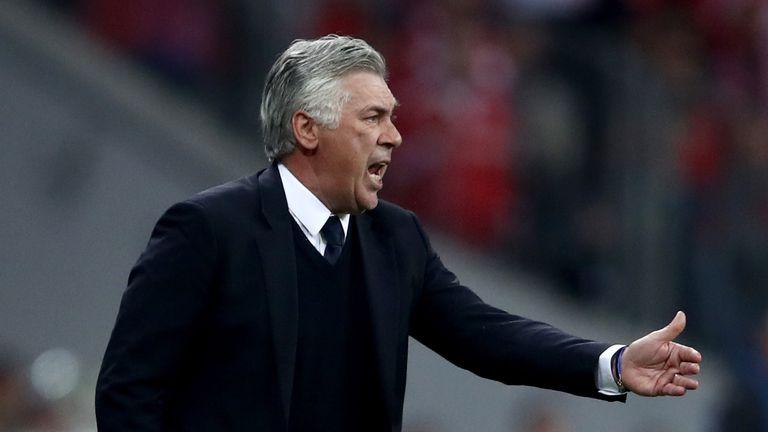 Bayern Munich boss Carlo Ancelotti