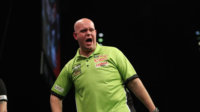 Michael van Gerwen is out to top the regular season table for the fifth year in succession