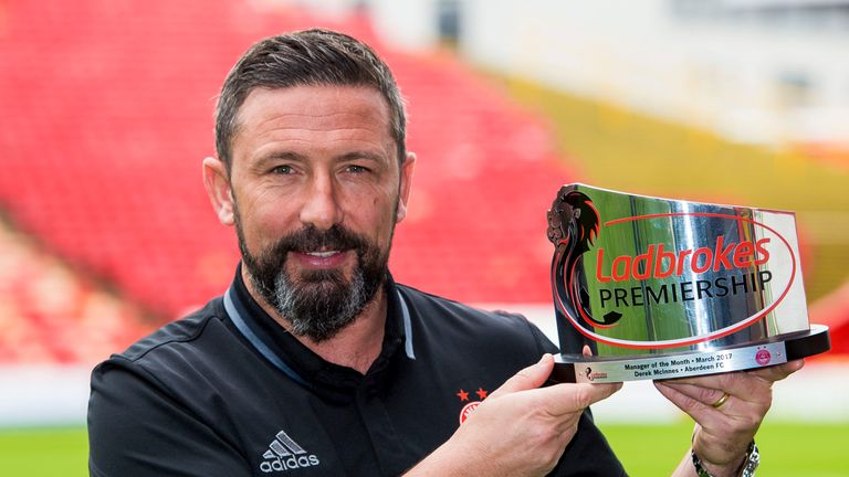 McInnes guided Aberdeen to second place in the Scottish Premiership last term
