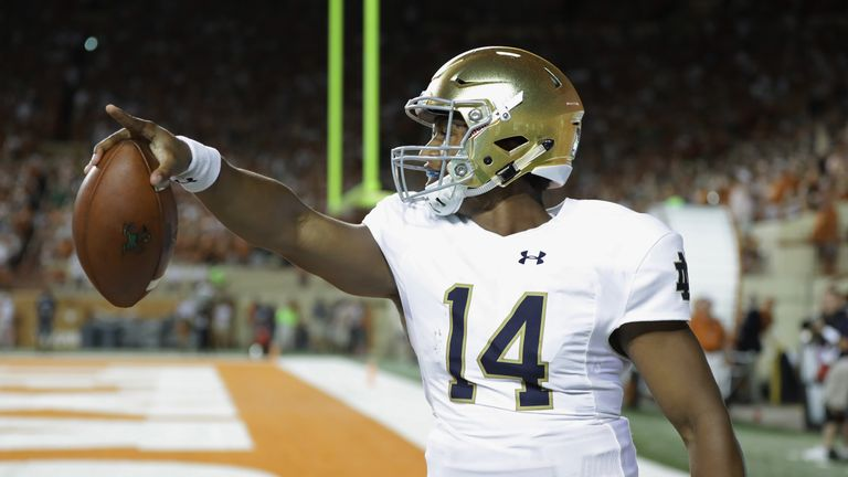 DeShone Kizer has talked up his prospects ahead of Thursday's NFL Draft, claiming he can be the best QB ever