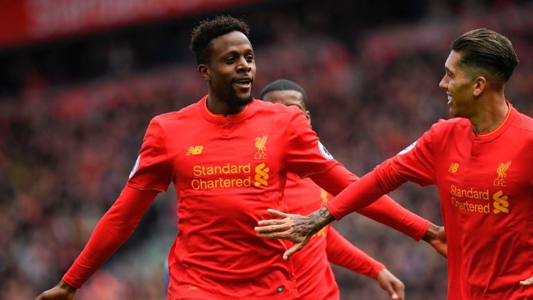 Divock Origi stepped off the bench to score Liverpool's third goal