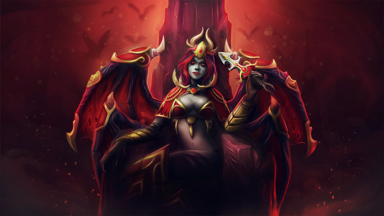 The Queen of Pain could make a return in Kiev after getting a slight buff. (credit Valve)