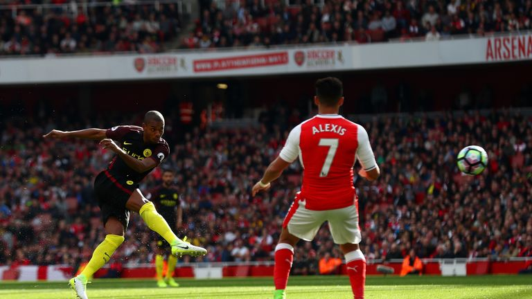 Arsenal and Manchester City played out a 2-2 draw at the Emirates earlier in April