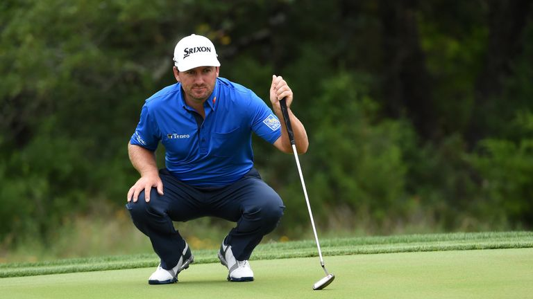 Graeme McDowell posted seven birdies and four bogeys