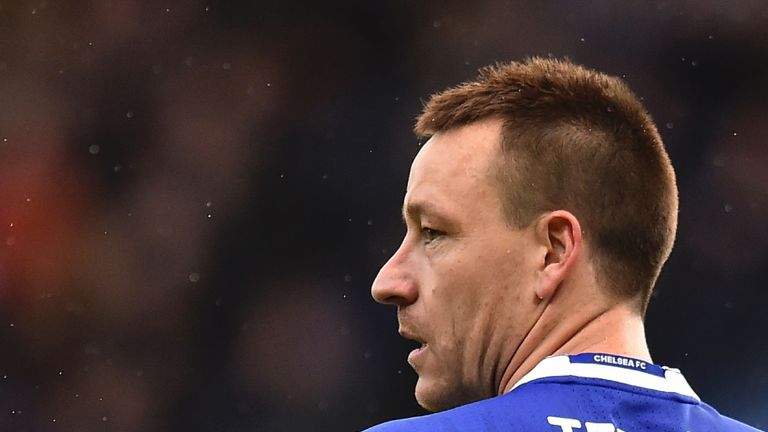 John Terry will leave Chelsea this summer when his contract expires
