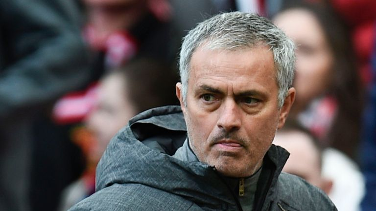 Jose Mourinho was frustrated with his strikers in the 0-0 draw