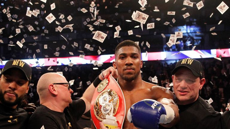 Klitschko to use Joshua sessions as homework for bout