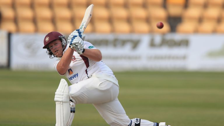 Richard Levi made 101 for Northants in Cardiff