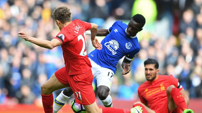 It was the 50th Premier League Merseyside derby