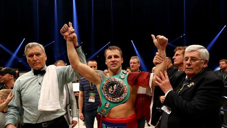Mairis Briedis saw his unbeaten record and WBC belt go